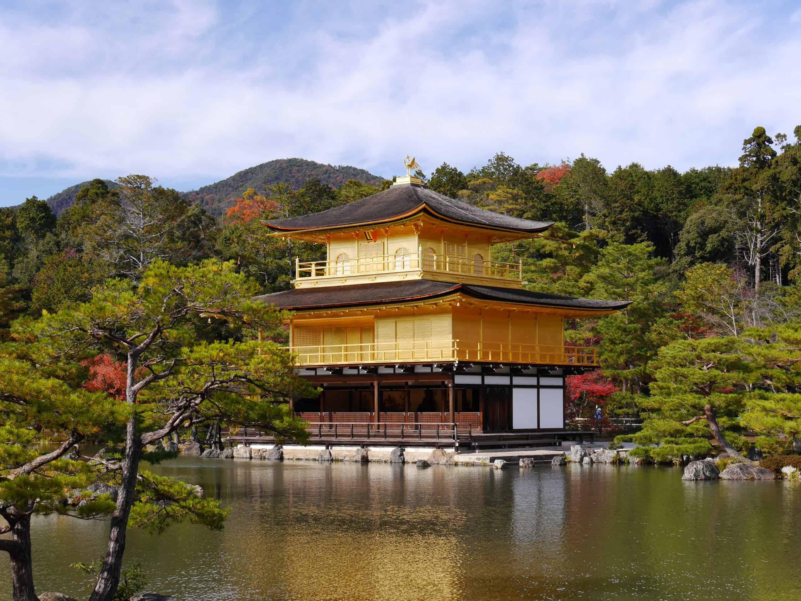 visit Kinkaku-ji