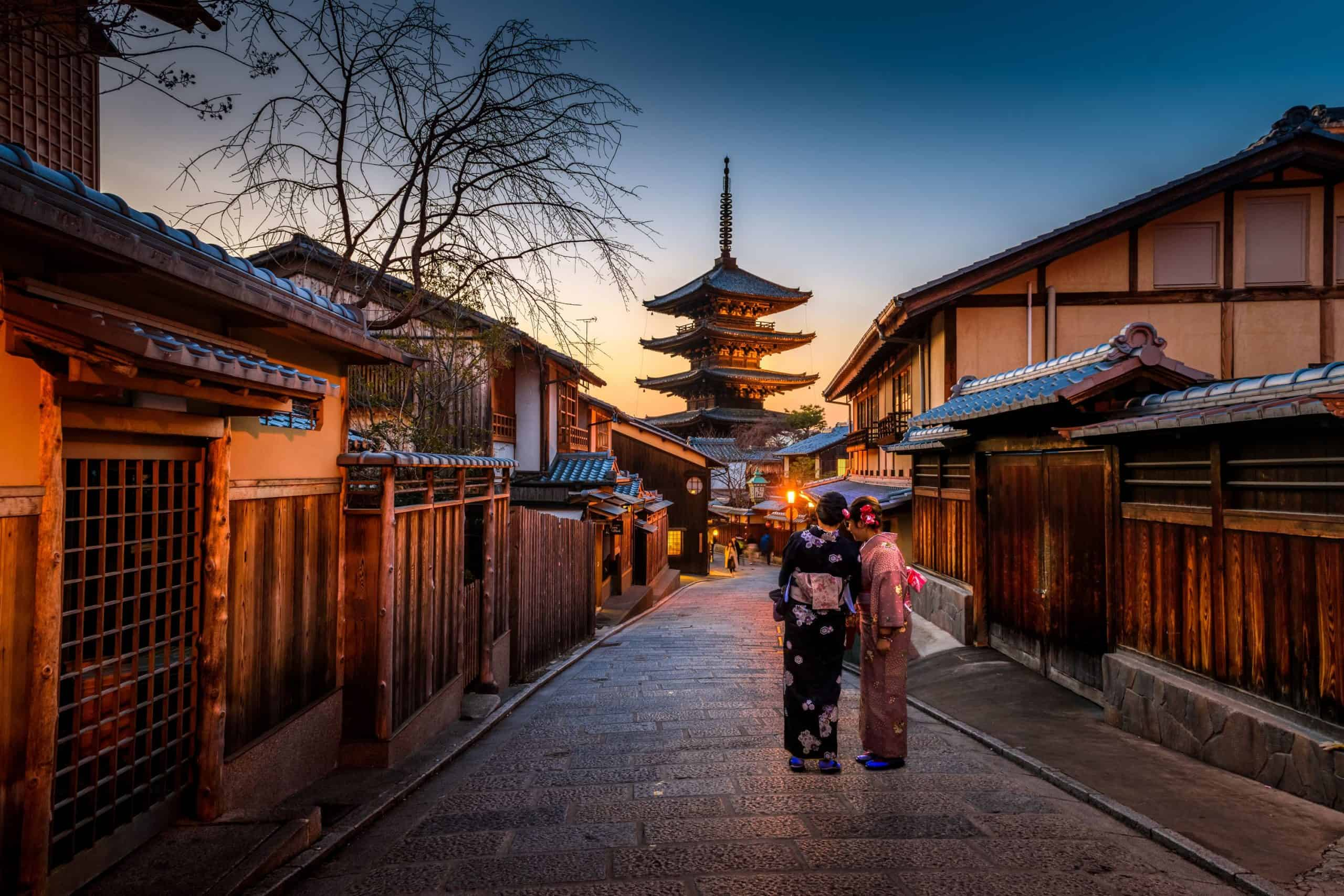 tour kyoto on foot