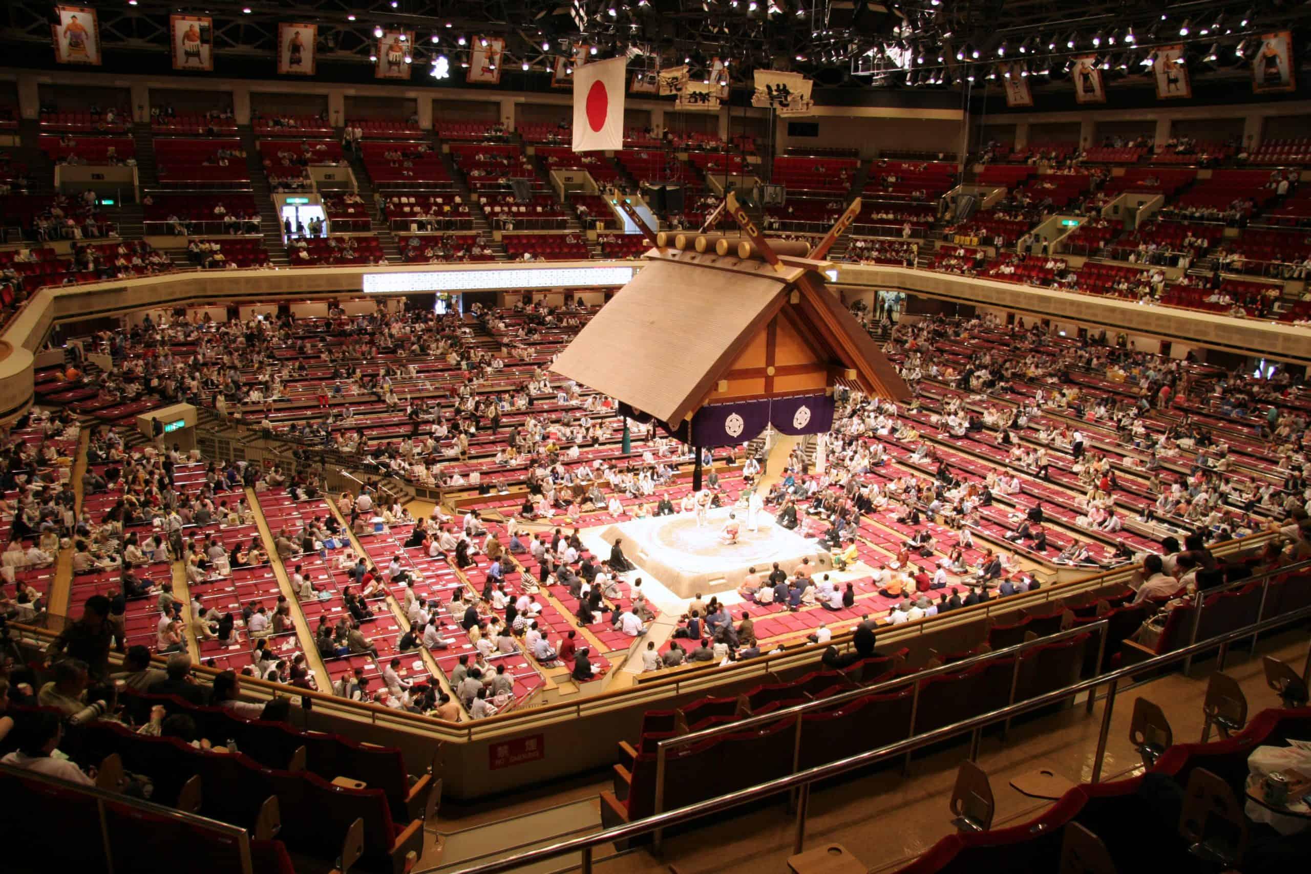 visit the Ryogoku sumo hall tokyo