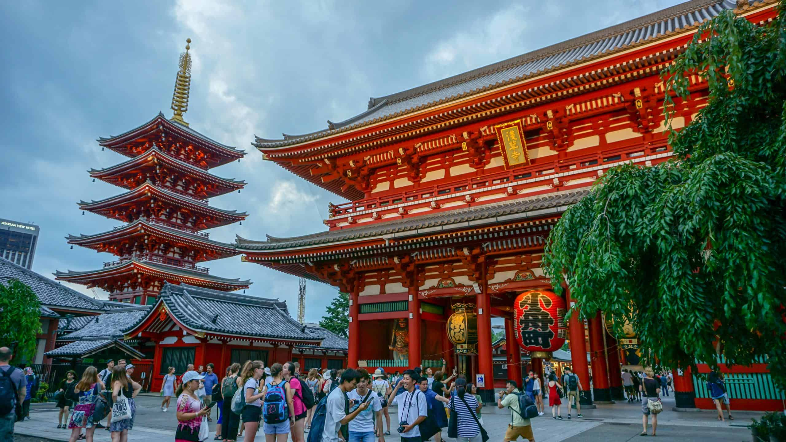 visit the Sensoji Temple