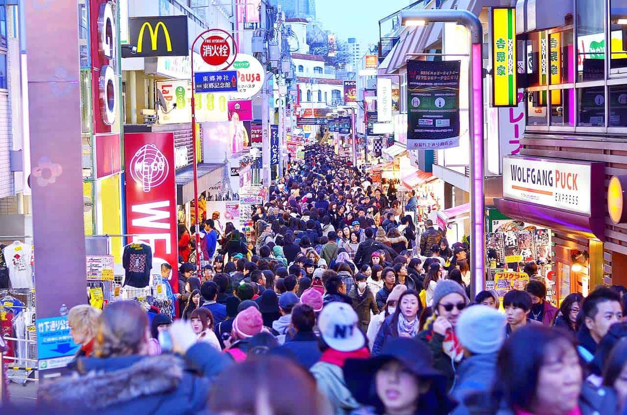visit Takeshita Street